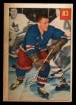 1954 Parkhurst #83  Ike Hildebrand  Front Thumbnail