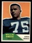 1960 Fleer #47  Willie Smith  Front Thumbnail
