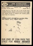 1959 Topps #134  Jim Schrader  Back Thumbnail
