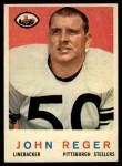 1959 Topps #124  John Regar  Front Thumbnail