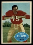 1960 Topps #118  Bob St. Clair  Front Thumbnail