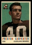 1959 Topps #18  Preston Carpenter  Front Thumbnail
