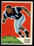 1960 Fleer #108  Alan Goldstein  Front Thumbnail