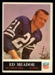 1965 Philadelphia #92  Ed Meador  Front Thumbnail