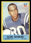 1967 Philadelphia #17  Alvin Haymond  Front Thumbnail