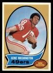 1970 Topps #81  Gene Washington  Front Thumbnail