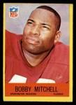 1967 Philadelphia #186  Bobby Mitchell  Front Thumbnail
