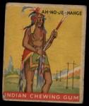 1933 Goudey Indian Gum #35  Ah-No-Je-Nahge   Front Thumbnail