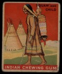1933 Goudey Indian Gum #146   Squaw and Child  Front Thumbnail