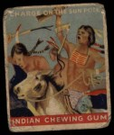 1933 Goudey Indian Gum #163   Charge on Sun Pole  Front Thumbnail