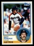 1983 Topps #611  Bert Roberge  Front Thumbnail