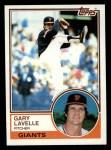 1983 Topps #791  Gary Lavelle  Front Thumbnail