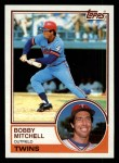 1983 Topps #647  Bobby Mitchell  Front Thumbnail