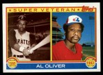 1983 Topps #421   -  Al Oliver Super Veteran Front Thumbnail