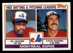 1983 Topps #111   -  Al Oliver / Steve Rogers Expos Leaders Front Thumbnail