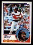 1983 Topps #177  Harold Baines  Front Thumbnail