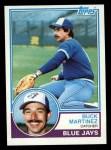 1983 Topps #733  Buck Martinez  Front Thumbnail