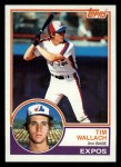 1983 Topps #552  Tim Wallach  Front Thumbnail