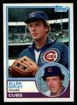 1983 Topps #73  Allen Ripley  Front Thumbnail