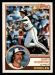 1983 Topps #605  Gary Roenicke  Front Thumbnail