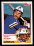 1983 Topps #519  Terry Bulling  Front Thumbnail