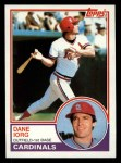 1983 Topps #788  Dane Iorg  Front Thumbnail