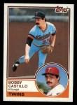 1983 Topps #327  Bobby Castillo  Front Thumbnail