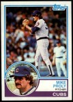 1983 Topps #597  Mike Proly  Front Thumbnail