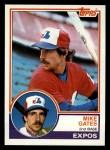 1983 Topps #657  Mike Gates  Front Thumbnail