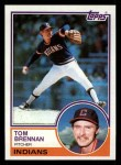 1983 Topps #524  Tom Brennan  Front Thumbnail