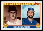 1983 Topps #256   -  Gene Garber Super Veteran Front Thumbnail