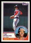 1983 Topps #698  Tony Bernazard  Front Thumbnail