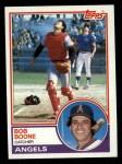1983 Topps #765  Bob Boone  Front Thumbnail