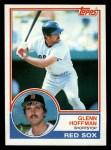 1983 Topps #108  Glenn Hoffman  Front Thumbnail