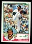 1983 Topps #338  Bob Owchinko  Front Thumbnail