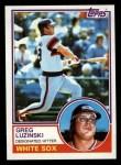 1983 Topps #310  Greg Luzinski  Front Thumbnail