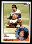 1983 Topps #689  Ron Hassey  Front Thumbnail