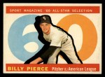 1960 Topps #571   -  Bill Pierce All-Star Front Thumbnail