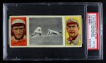 1912 T202 Hassan   -   Roger Bresnahan / Rebel Oakes Catching Him Napping  Front Thumbnail