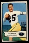 1954 Bowman #1  Ray Mathews  Front Thumbnail