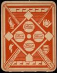 1951 Topps Red Back #34  Grady Hatton  Back Thumbnail