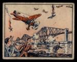 1939 Gum Inc. War News Pictures #96   Nazi Bombers Raid Scotland Front Thumbnail