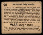 1939 Gum Inc. War News Pictures #90   Hela Peninsula Finally Surrenders Back Thumbnail