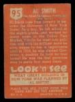 1952 Topps Look 'N See #95  Al Smith  Back Thumbnail