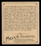 1910 T218 Champions #102  Dave Deshler  Back Thumbnail
