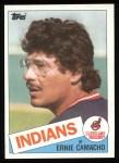 1985 Topps #739  Ernie Camacho  Front Thumbnail