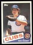1985 Topps #742  Ron Hassey  Front Thumbnail