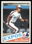 1985 Topps #658  Mike Stenhouse  Front Thumbnail