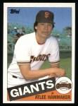 1985 Topps #674  Atlee Hammaker  Front Thumbnail