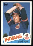 1985 Topps #664  Steve Farr  Front Thumbnail
